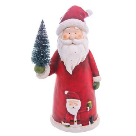 Xmas Cheer Santa Large Figurine